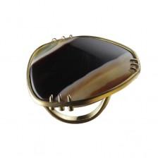 MArc-Auclert-Bague-perle-plate-d'agate-rubannee